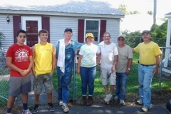 Hope House Roof Volunteers