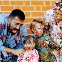 5th annual 'Zombie Walk': Undead rise up for charity
