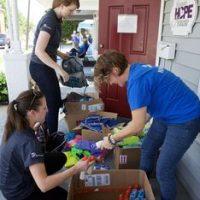 Dominion Virginia Power volunteers