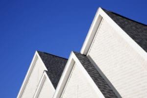 four gabled rooflines 8PVGP8J