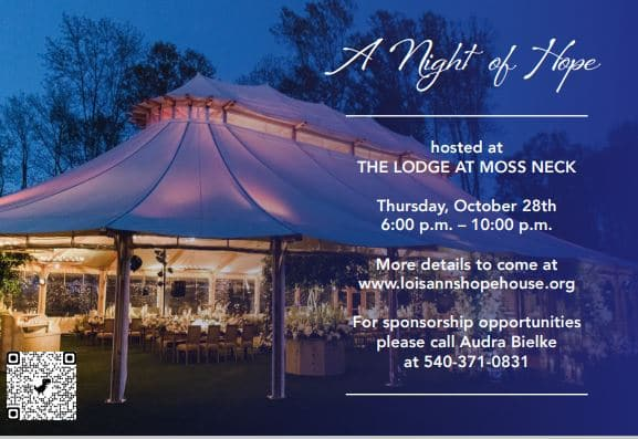 Save the Date for Night of Hope